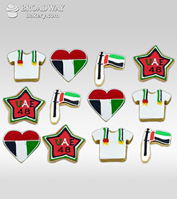 48th National Day Cookie Box