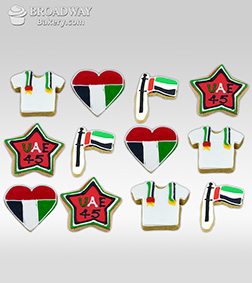 45th National Day Cookie Box