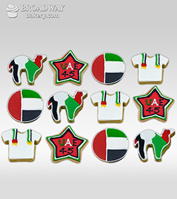 National Day Tribute Cookie Box
