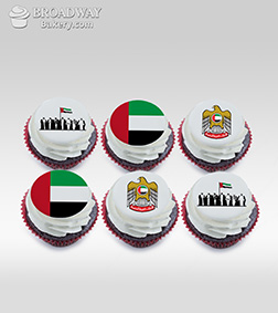 Union Half Dozen (6) Cupcakes