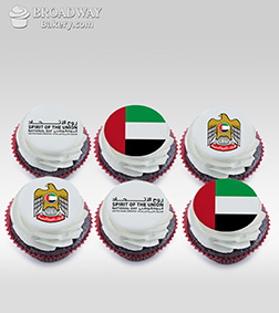 Proud Patriot Half Dozen (6) Cupcakes