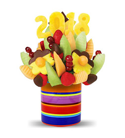 Prosperous Year Fruit Bouquet