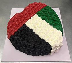 Rosette Flag Cake