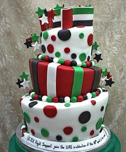 Star Struck National Day Cake