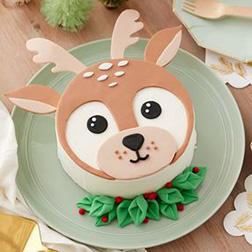 Baby Reindeer Cake