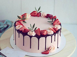 Fruits of Love Cake