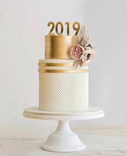 Gold Standard New Year's Cake