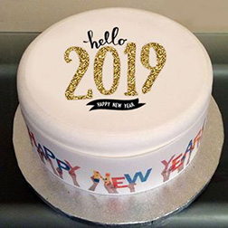 Ring in the New Year Cake