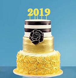 Glitz & Glamour 2018 Cake