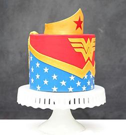 Wonder Woman Boutique Cake