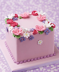 Patch of Flowers Cake
