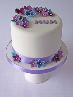 Floral Serenity Cake