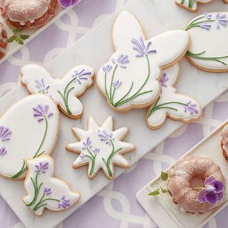 Blooming Easter Cookies