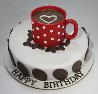 Cup of The Day Cake