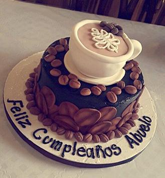 Best Roast Coffee Themed Cake