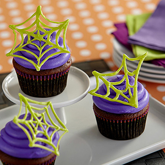 Caught in a Web Cupcakes
