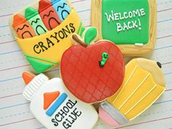 Welcome Back to School Cookies
