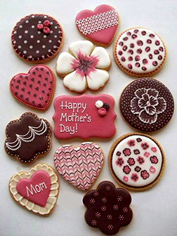 Love Forever Mom Cookies