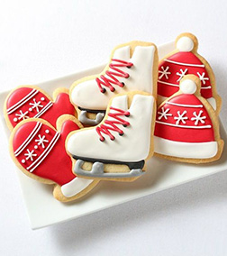 Winter Skating Cookies