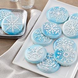 Unique Snowflake Cookies