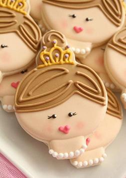 Princess Tiara Cookies
