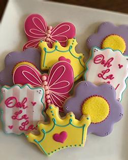 Spring Queen Cookies