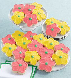 Bright Blooms Cookies