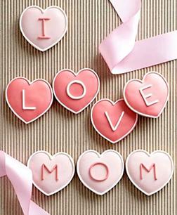 Mom's Day Telegram Cookies