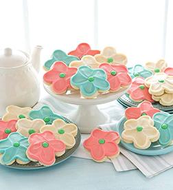 Pastel Blooms Cookies