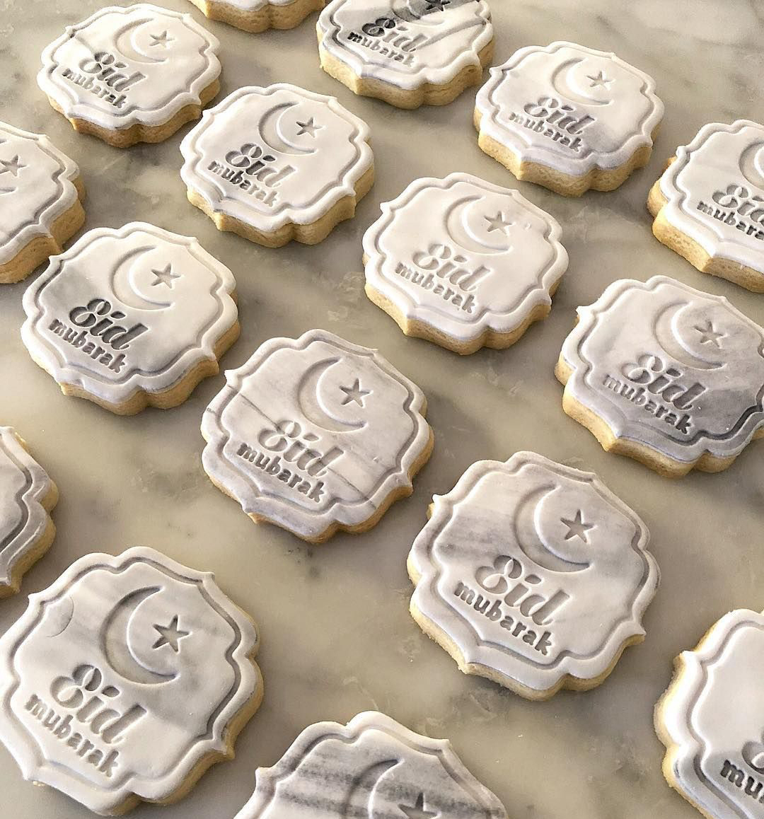 Engraved Eid Cookies