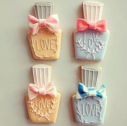Bottles Of Love Cookies