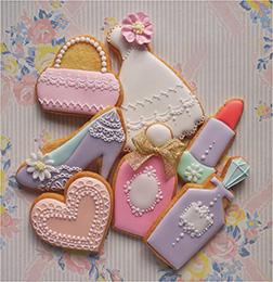 Pastel Beauty Cookies