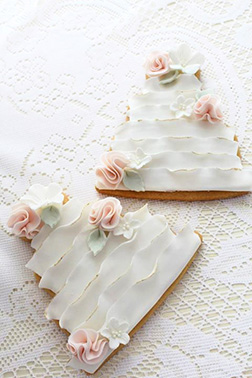 Ruffled Elegance Cookies