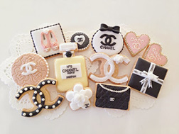 The Chanel Collection Cookies
