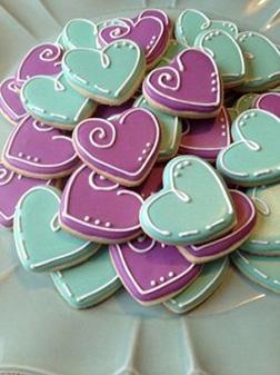 Don't Break My Heart Cookies