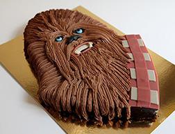 Hairy Wookie Star Wars Birthday Cake