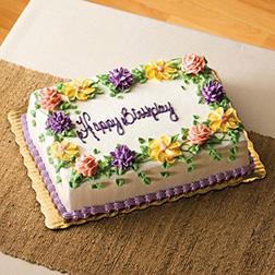 Wildflower Wreath Birthday Cake