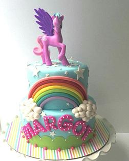 MLP Star Chaser Cake