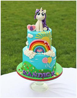 MLP Rarity Sunshine Cake