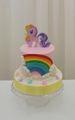 MLP Cloud Chaser Cake