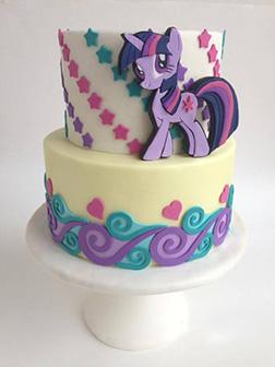 Princess Twilight Sparkle MLP Cake