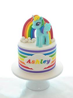 Rainbow Dash Sonic Rainbow Cake