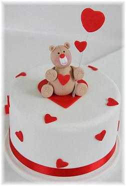 Teddy Bear Lover Cake