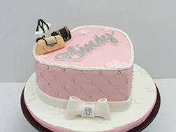 Elegant Accessories Heart Cake