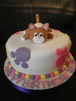 Pretty Kitty Cat Cake