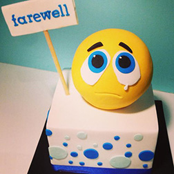 I'll Miss You Farewell Cake