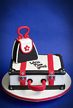 Luggage Ready Farewell Cake