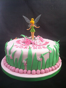 Tinkerbell Pretty in Pink Cake