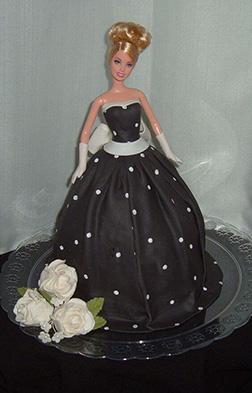 Ballroom Barbie Cake