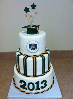 Graduation Superstar Cake